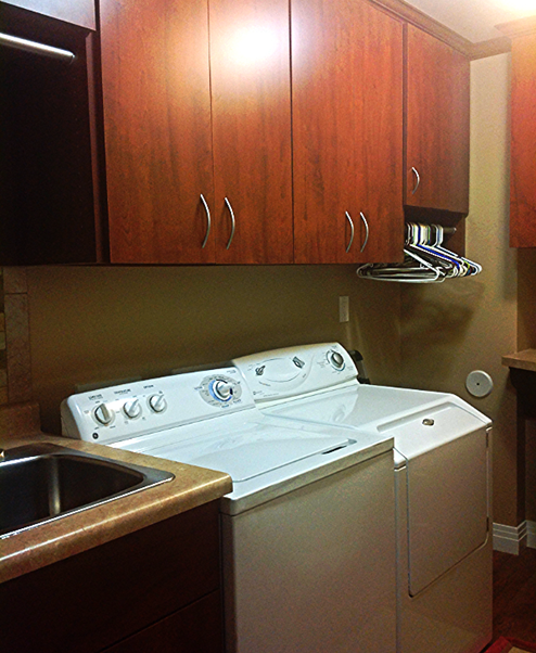 Custom Laundry Rooms