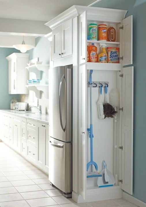 Kitchen storage organization