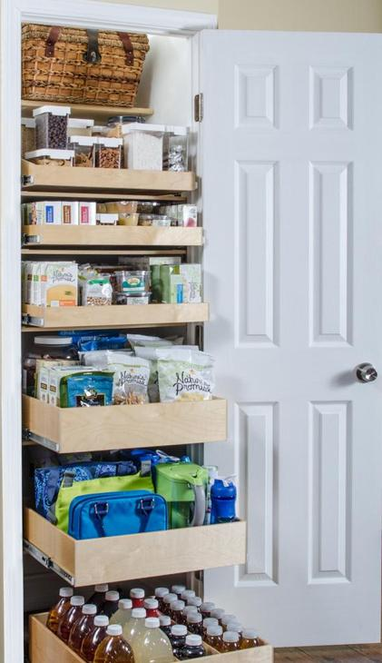 Kitchen Pantry Organization and Storage