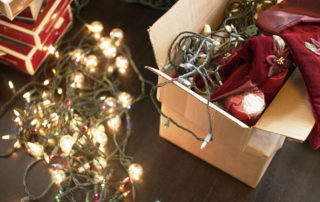 Organizing Holiday Decorations
