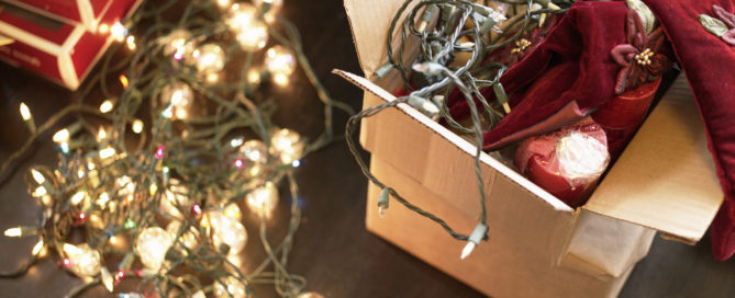 Organizing Holiday Decoration Ideas