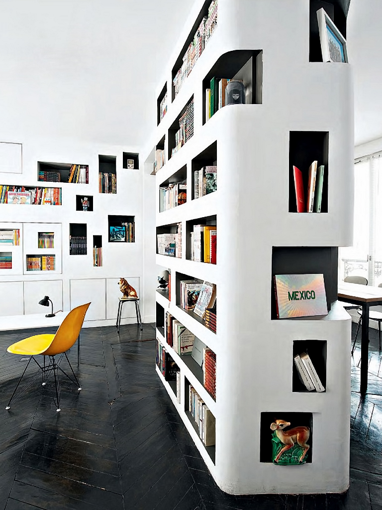 Modern bookcase inspiration