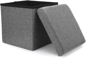 Storage Options for Small Space storage ottoman
